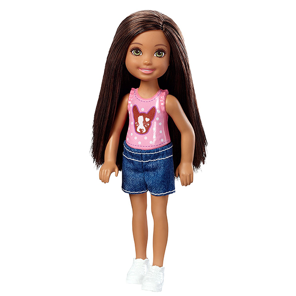 Mattel Barbie DWJ36 Барби Кукла Челси barbie мини кукла челси с молоком и печеньем