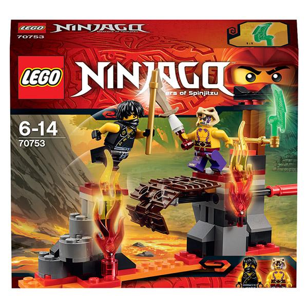 Конструктор Lego Ninjago 70753 Лего Ниндзяго Сражение над лавой