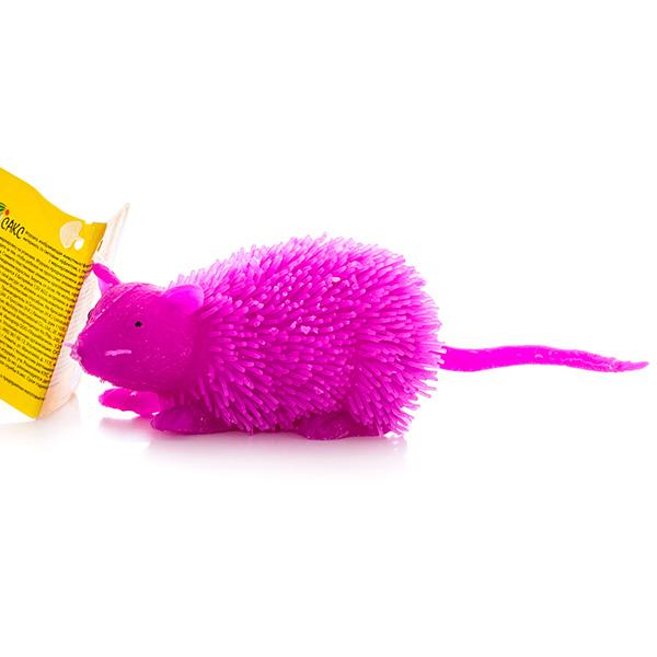 HGL SV11195 Фигурка мышь с резиновым ворсом с подсветкой (в ассортименте)