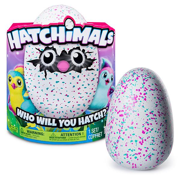 Hatchimals 19100-PEN-TEAL Хетчималс Пингвинчик - интерактивный питомец, вылупляющийся из яйца
