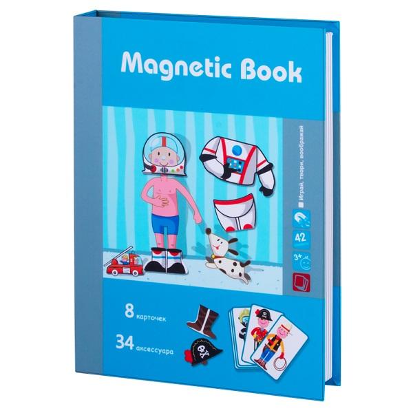 Magnetic Book TAV029 Развивающая игра Интересные профессии