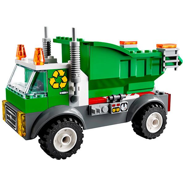 Lego Juniors 10680 Лего Джуниорс Мусоровоз