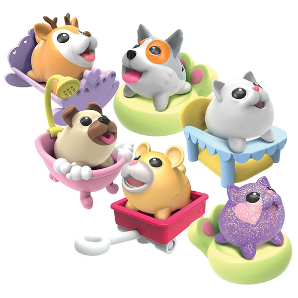 Chubby Puppies 56717 Упитанные собачки Коллекционная фигурка щенка