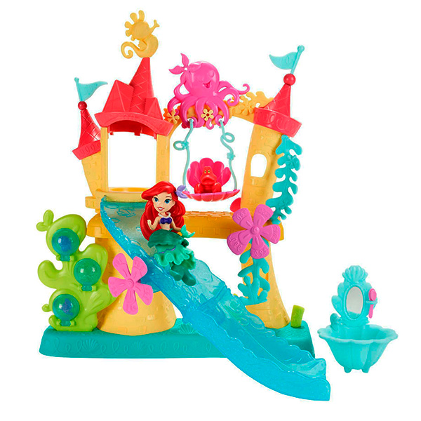 Hasbro Disney Princess B5836 Замок Ариель для игры с водой пазл origami disney princess ариель со стразами
