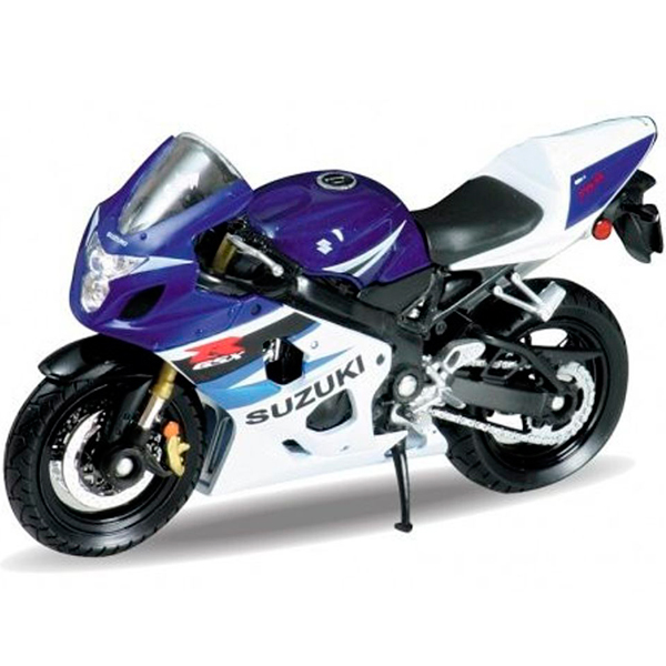 Welly 12803P Велли Модель мотоцикла 1:18 MOTORCYCLE / SUZUKI GSX-R750 suzuki gsx r750 motorcycle service repair maintenance shop manual 2004 2015 [cd rom]