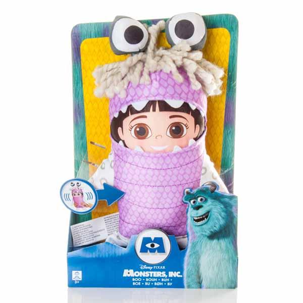 Monsters Inc. 87024_1 Корпорация Монстров Кукла Бу плюшевая в костюме со звук эффектами 30 см