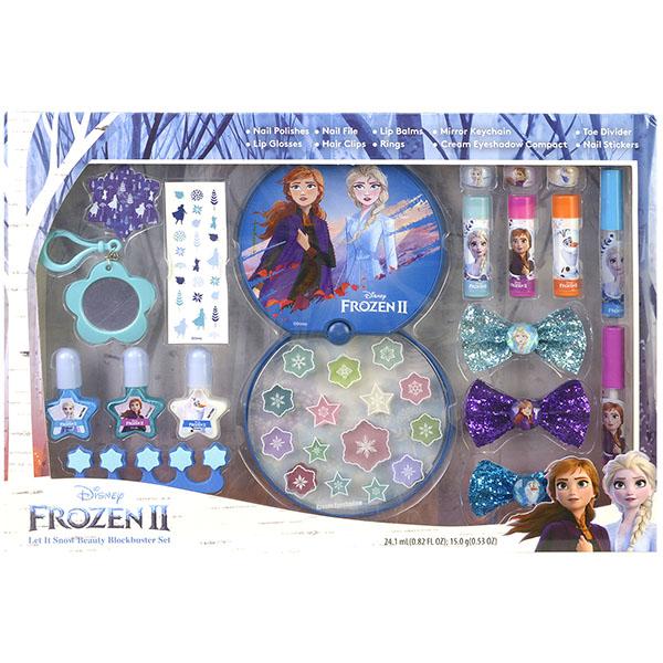 Markwins 1599013E Frozen Игровой набор детской декоративной косметики для лица и ногтей
