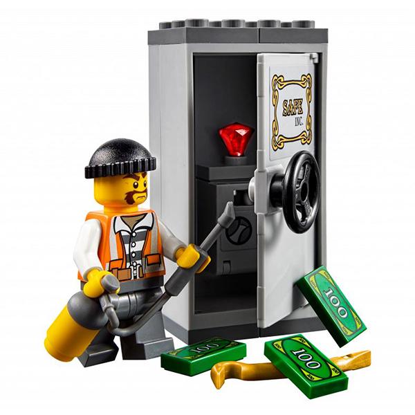 Lego City 60137 Конструктор Лего Город Побег на буксировщике