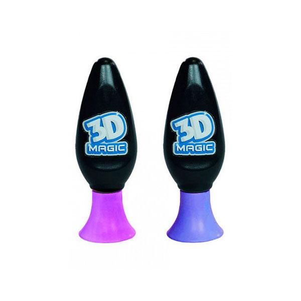 3D Magic 81005 Набор для создания объемных моделей 2 шт, цвета (в ассортименте) hasbro play doh игровой набор из 3 цветов цвета в ассортименте с 2 лет
