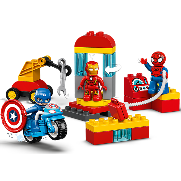 LEGO DUPLO 10921 Конструктор ЛЕГО ДУПЛО Super Heroes Лаборатория супергероев