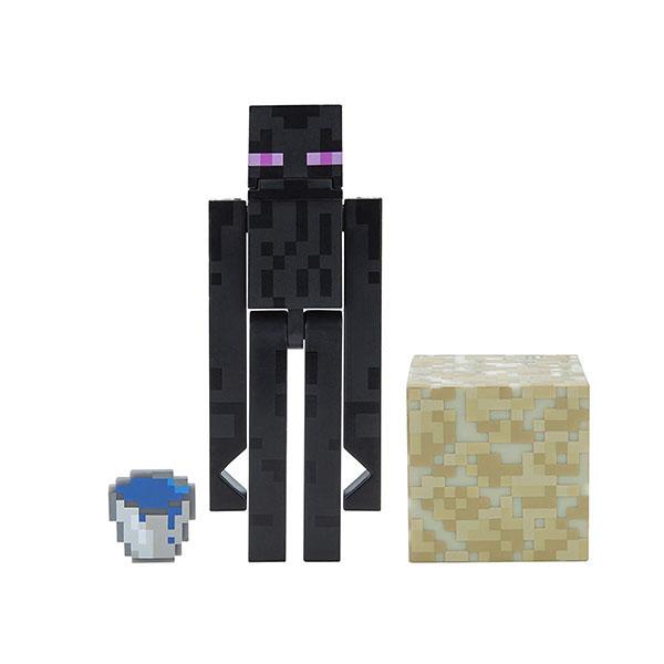 Minecraft 19977 Майнкрафт фигурка Attacking Enderman bandai фигурка minecraft mine charact box zombie 4 см