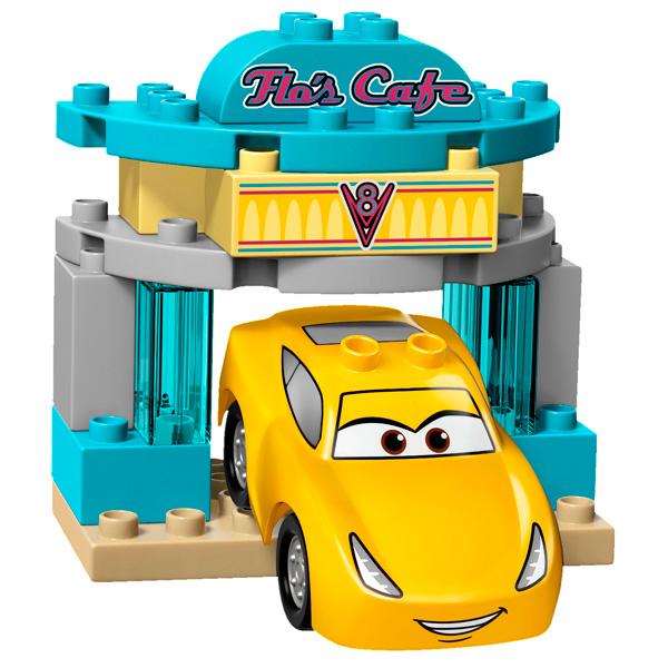 Лего Дупло 10846 Тачки Кафе у Фло