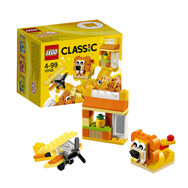 Lego Classic 10709 Лего Классик Оранжевый набор для творчества конструктор lego 10692 classic набор для творчества