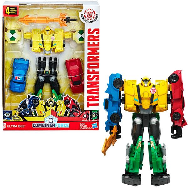 Hasbro Transformers C0624 Трансформеры Роботы под прикрытием: Тим-Комбайнер игрушка hasbro furby коннект яркие цвета turquoise pink b6083