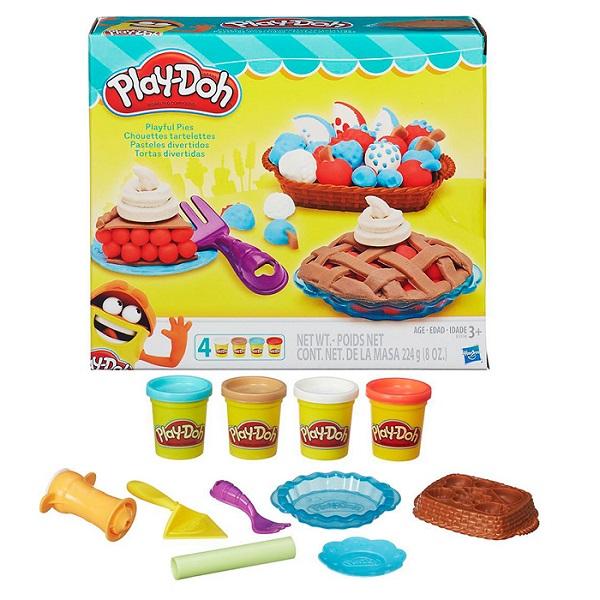 Hasbro Play-Doh B3398 Игровой набор Ягодные тарталетки play doh игровой набор праздничный торт