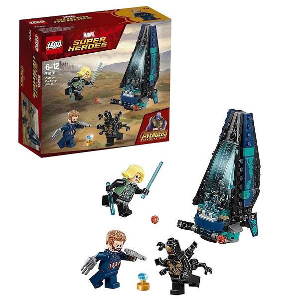 Lego Super Heroes 76101 Конструктор Лего Супер Герои Атака всадников lego super heroes 76085 конструктор лего супер герои битва за атлантиду