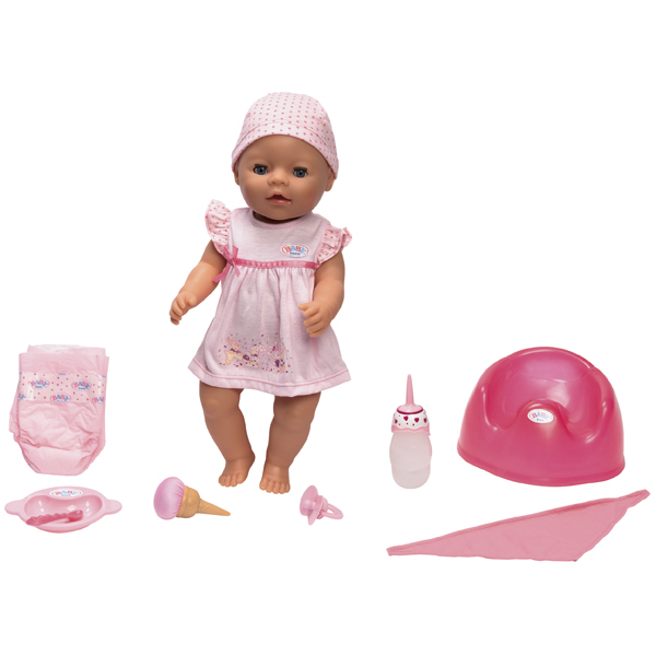 Zapf Creation Baby born® 811-214_1 Бэби Борн Кукла Покорми меня, 43 см