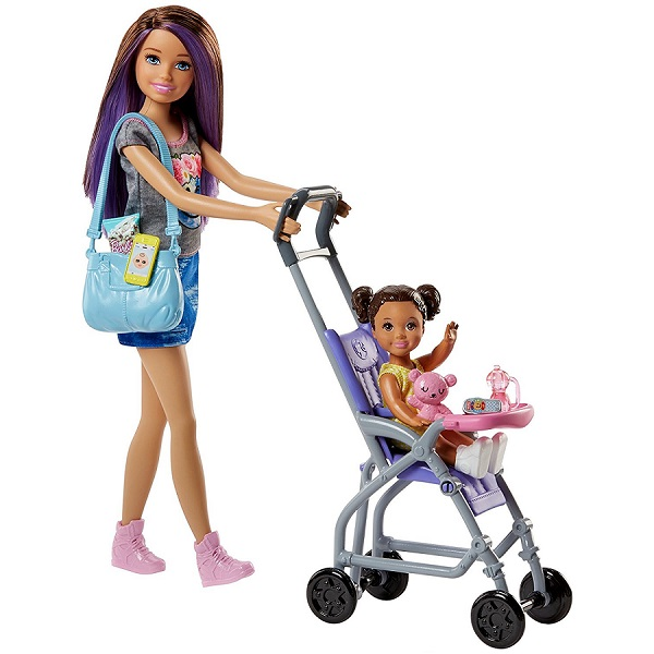 """Mattel Barbie FJB00 Барби Набор """"Няня"""""""