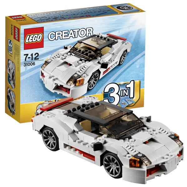 Конструктор Lego Creator 31006 Конструктор Спидстеры (гоночный автомобиль/тягач)