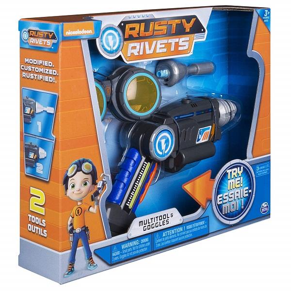 Rusty Rivets 28109 Супер инструмент и очки Расти