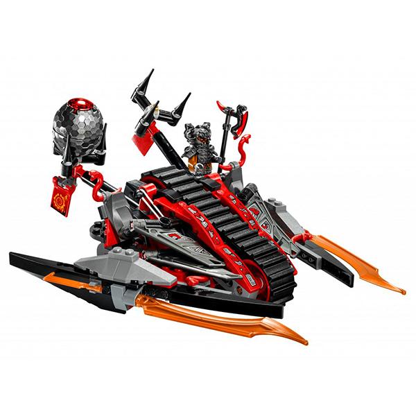 Lego Ninjago 70624 Конструктор Лего Ниндзяго Алый захватчик