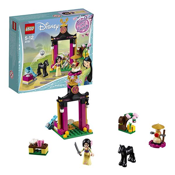 LEGO Disney Princess 41151 Конструктор ЛЕГО Принцессы Дисней Учебный день Мулан платье мулан disney m