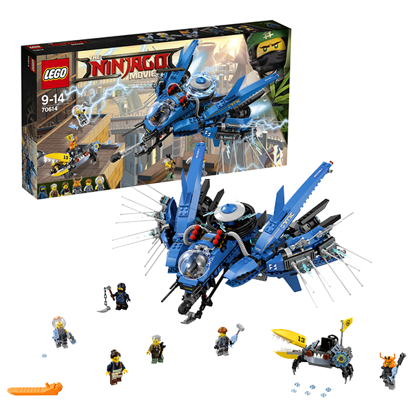 Lego Ninjago 70614 Лего Ниндзяго Самолёт-молния Джея lego lego ninjago 70621 атака алой армии