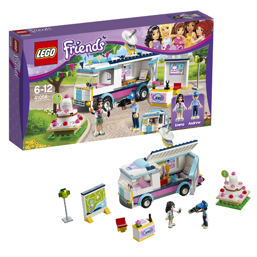 Конструктор Фургон журналистов Хартлейк Сити Lego Friends Лего Подружки