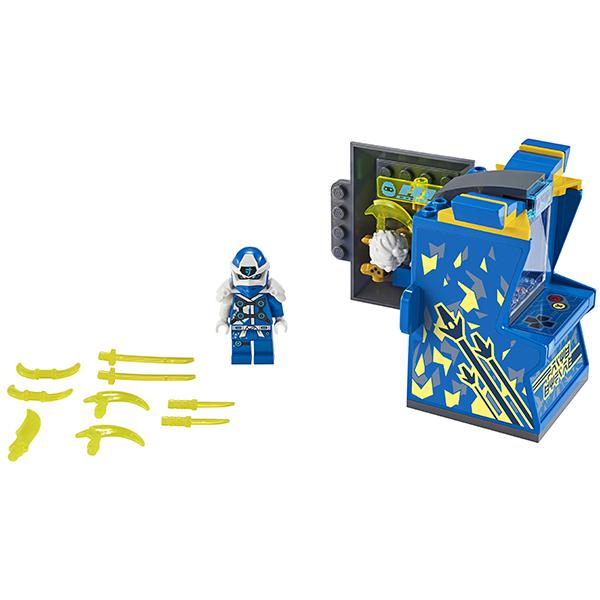 LEGO Ninjago 71715 Конструктор ЛЕГО Ниндзяго Игровая капсула для аватара Джея