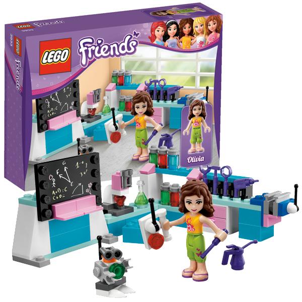 Lego Friends 3933 Конструктор Лаборатория Оливии