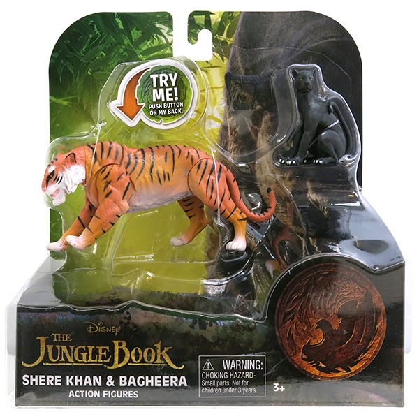 Jungle Book 23255 Книга Джунглей 2 фигурки в блистере, в ассортименте