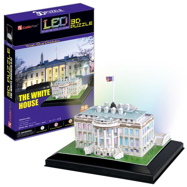 Cubic Fun L504h Кубик фан Белый дом с иллюминацией (Вашингтон) цена
