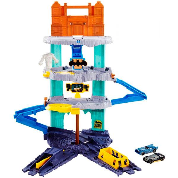 Mattel Hot Wheels FLP08 Хот Вилс Игровой набор Пещера Бэтмена hot wheels city игровой набор небесный взрыв
