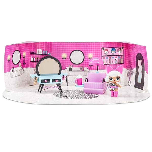 L.O.L. Surprise 564102 Игровой набор с куклой, салон красоты