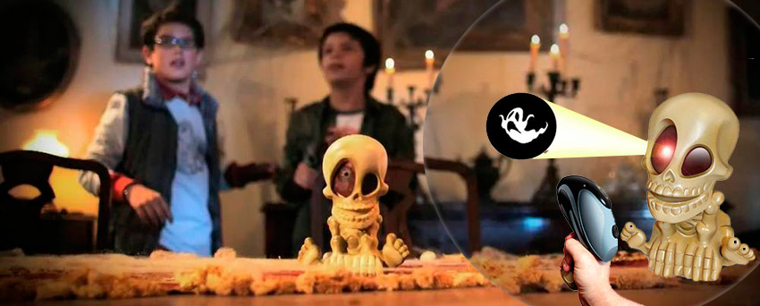 Интерактивная игрушка Черепок Джонни - классический вариант и 3D-версия