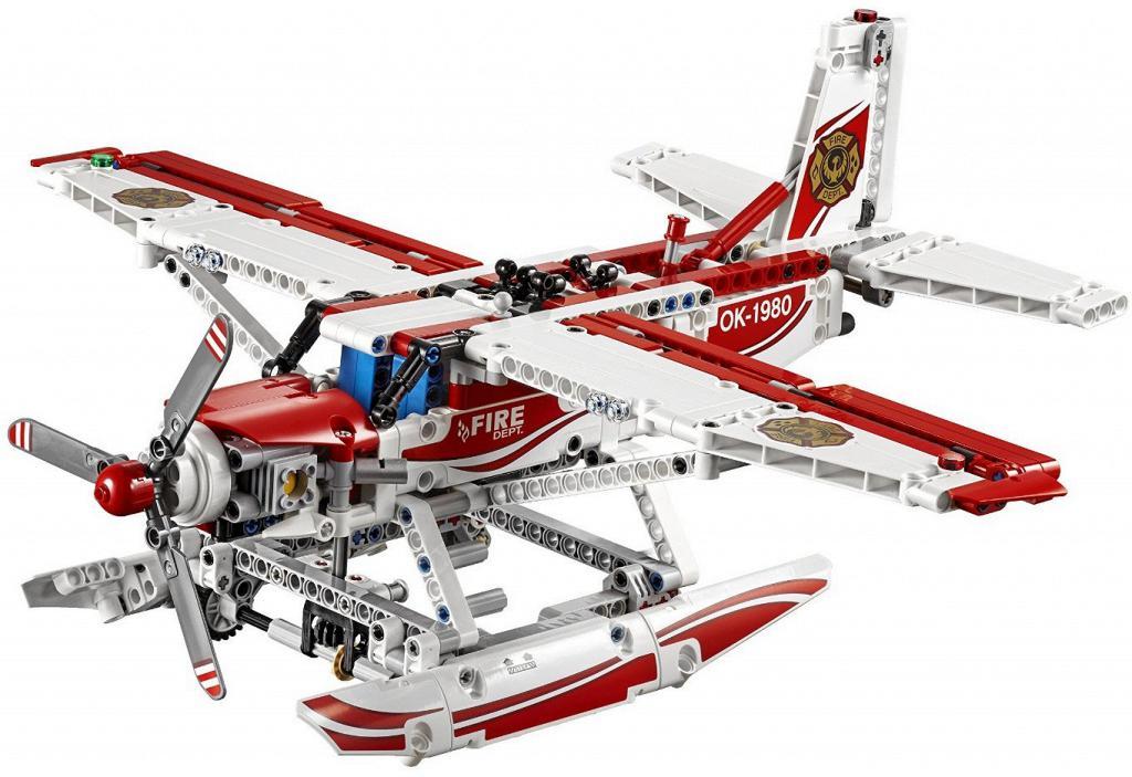 Лего Техник 42040 Пожарный Самолет