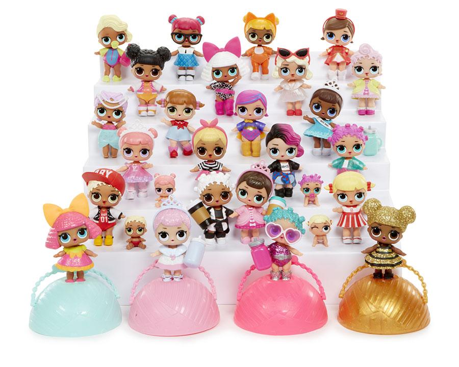Обзор LOL dolls 45 кукол