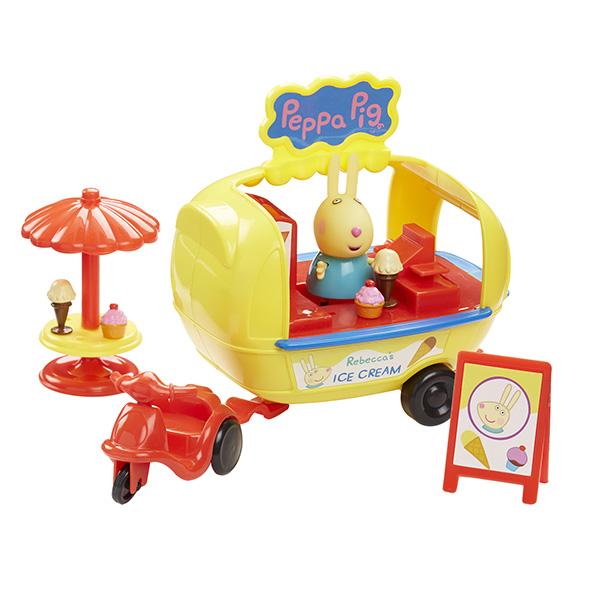 Peppa Pig 30628 Свинка Пеппа Игровой набор Кафе-мороженое Ребекки