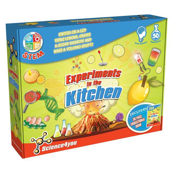 Science4you 602410 Набор опытов Моя лаборатория: эксперименты на кухне