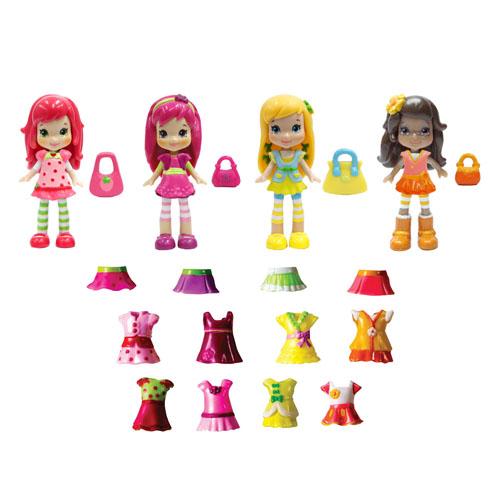 Игровой набор Strawberry Shortcake 12254 Шарлотта Земляничка куклы 8 см