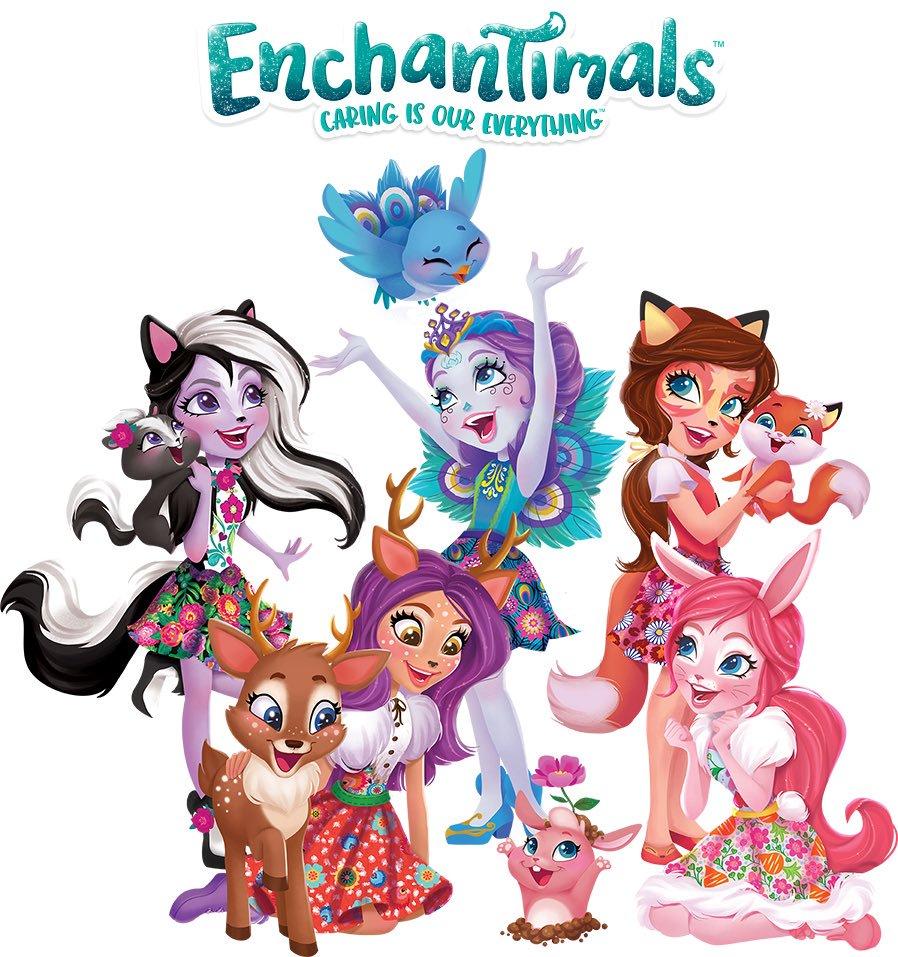 Enchantimals - девочки и их питомцы