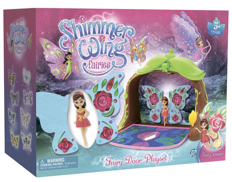 Игровой набор Волшебная дверь с куклой феей упаковка