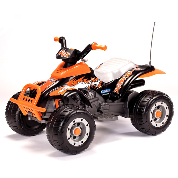 Детский электроквадроцикл OR0066 Corral T-Rex (оранжевый)