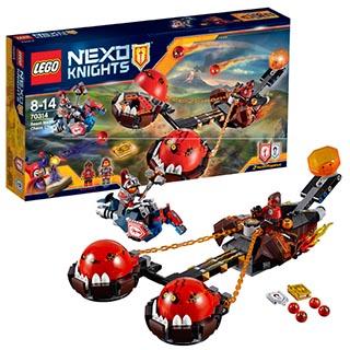 Лего Нексо Безумная колесница Укротителя 70314