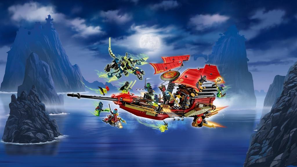 Новинки LEGO Ninjago