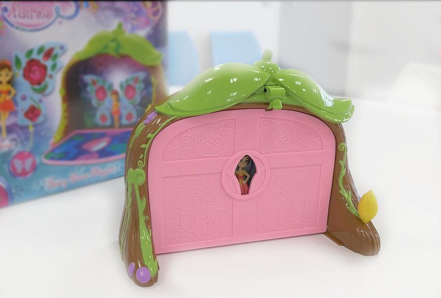 Игровой набор Волшебная дверь с куклой феей функционал