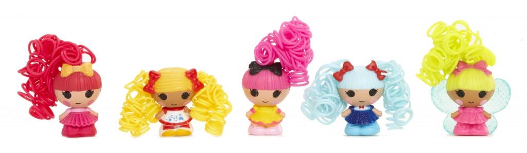 Куклы Lalaloopsy Tinies 532873 Лалалупси Малютки упаковка из 5 шт.