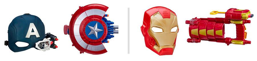 Игрушки Captaine America Civil War от Hasbro
