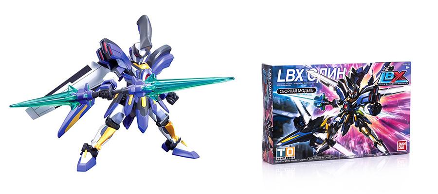 Один - робот LBX сборная модель