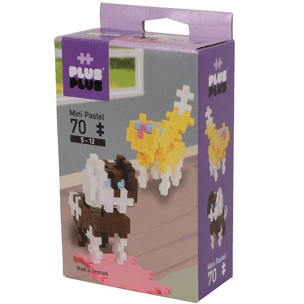 Plus Plus 3754 Разноцветный конструктор для создания 3D моделей(собаки коричневый).jpg